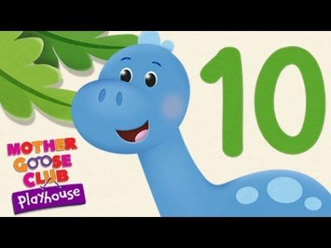 Ten Little Dinosaurs | Mother Goose Club Playhouse Kids Song