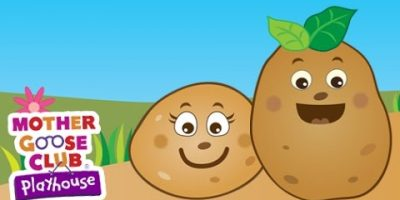 One Potato, Two Potato | Mother Goose Club Playhouse Kids Song