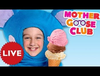Nursery Rhymes Mother Goose Club | LIVE | Kids Watch Online | Nursery Rhyme Compilation for Children