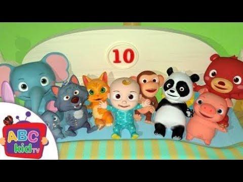Dez Na Cama   Canções Infantis E Rimas Infantis – Abckidtv