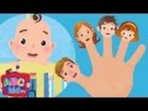 Finger Family | Nursery Rhymes – ABCkidTV