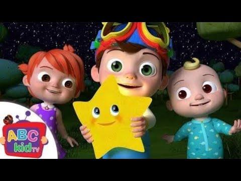 Twinkle Twinkle Little Star | Canções De Berçário E Canções Infantis De Abckidtv