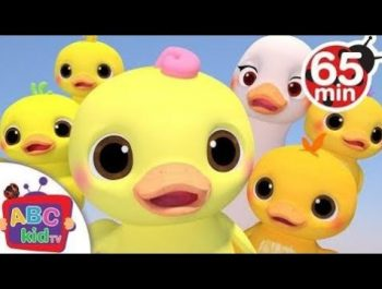 Five Little Ducks 3-d | + More Nursery Rhymes & Kids Songs – ABCkidTV
