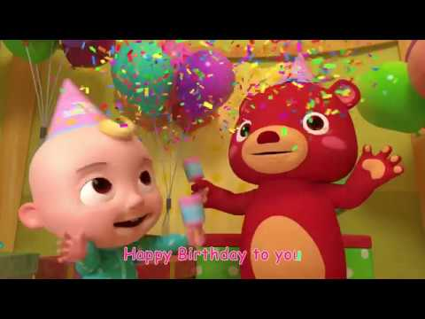 Happy Birthday Song   Nursery Rhymes & Kids Songs   ABCkidTV