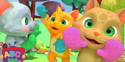 Three Little Kittens | Nursery Rhymes & Kids Songs – ABCkidTV