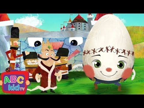 Humpty Dumpty (2D) | Cocomelon (ABCkidTV) Nursery Rhymes & Kids Songs