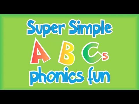 Super Simple ABCs Phonics Song: J-R