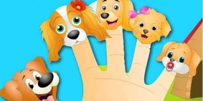 The Finger Family | Dog Finger Family Nursery Rhyme | Kids Animation Rhymes Songs