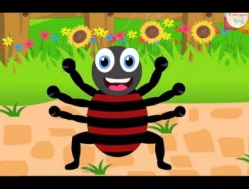 Incy Wincy Spider (Itsy Bitsy Spider) Nursery Rhyme  | Kids Animation Rhymes Songs