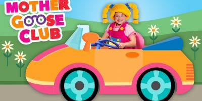 Driving In My Car | Mother Goose Club Rhymes for Children