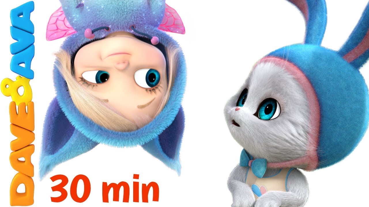 ? Little Bunny Foo Foo | 30 minutes Nursery Rhymes Collection from Dave and Ava ?