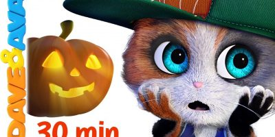 ?  Five Little Kittens | Halloween Songs | Scary Nursery Rhymes from Dave and Ava ?