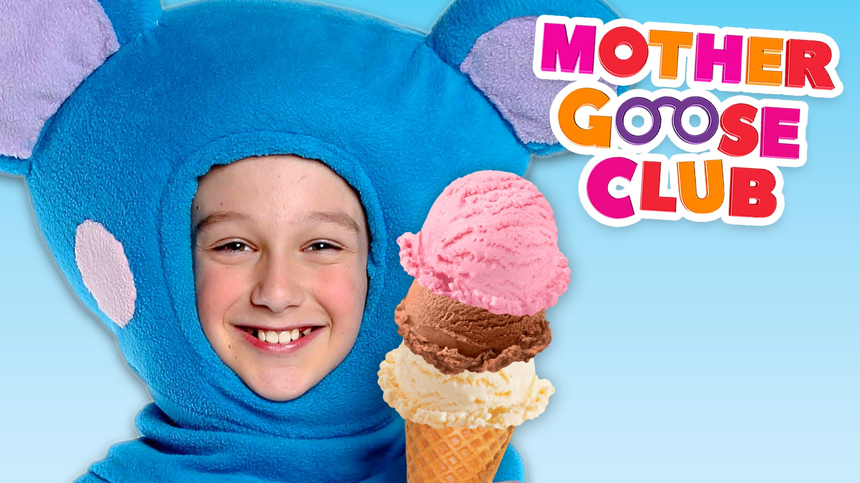 Ice Cream Song | Mother Goose Club Rhymes for Children