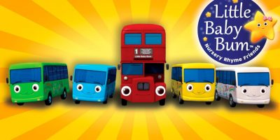 Little Baby Bum | Ten Little Buses – From Wheels On The Bus | Nursery Rhymes for Babies