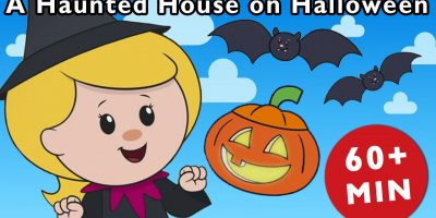 A Haunted House on Halloween Night and More   Nursery Rhymes from Mother Goose Club!