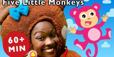 Five Little Monkeys and More   Nursery Rhymes from Mother Goose Club!