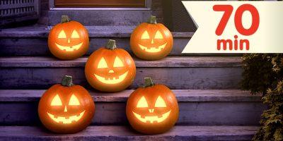 Five Little Pumpkins + More | Counting Songs & Nursery Rhymes | Super Simple Songs