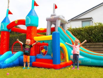 Outdoor Playground for kids and Fun Activities with Gaby