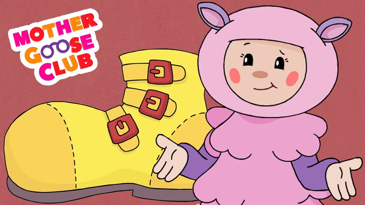 One Two Buckle My Shoe Animated – Mother Goose Club Rhymes for Kids