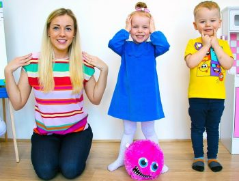 Head, Shoulders, Knees & Toes – Exercise Song for children