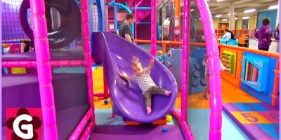 Gaby Playing at Playground – Playground Song