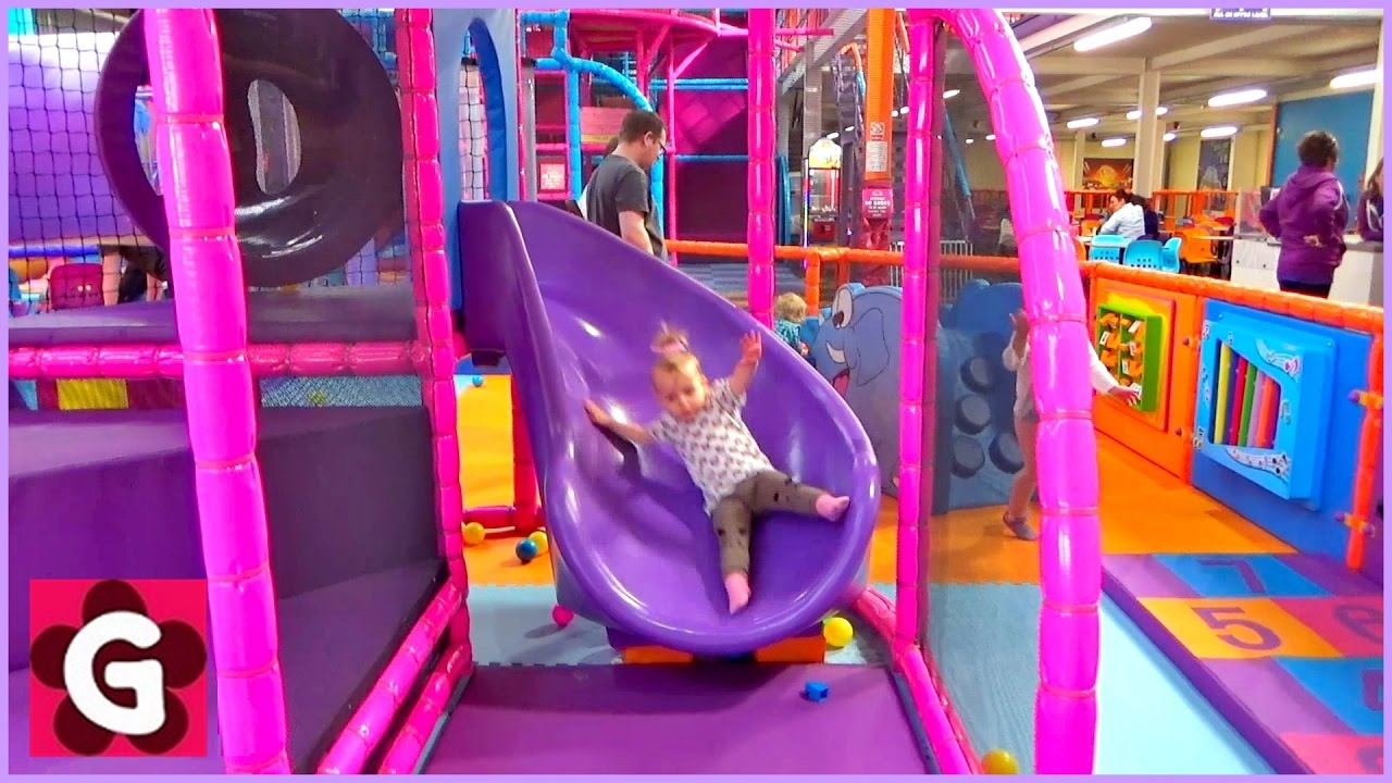 Gaby Playing at Playground – Playground Song