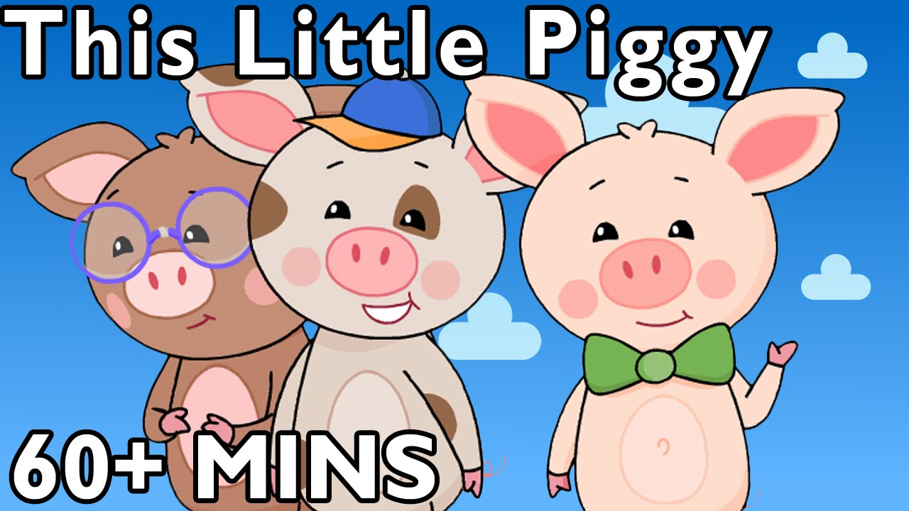 This Little Piggy and More | Nursery Rhymes from Mother Goose Club!