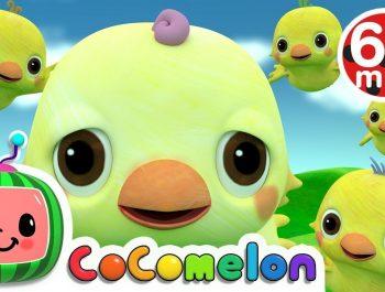 Five Little Birds 2 | +More Nursery Rhymes & Kids Songs – Cocomelon (ABCkidTV)