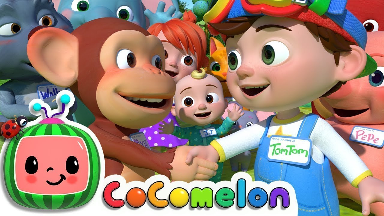 My Name Song Cocomelon Abckidtv Nursery Rhymes Kids Songs Nursery Rhymes For Baby