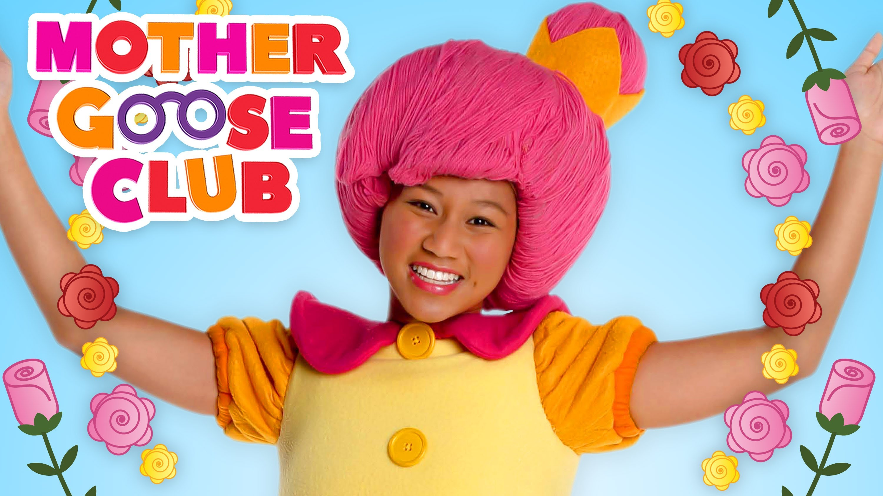 Ring Around the Rosy | Mother Goose Club Playhouse Kids Video