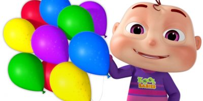 Five Little Babies Blowing A Balloon | And Many More Baby Songs | 3D Rhymes For Children