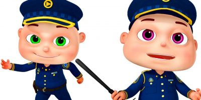 Five Little Babies Dressed As Police   Zool Babies Fun Songs   Nursery Rhymes Collection