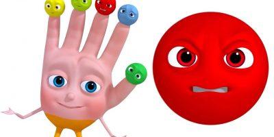 Smiley Finger Family | Learn Emotions For Kids | VeeJee Surprise Eggs Finger Family Series