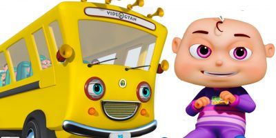 Wheels On The Bus With Five Little Babies | Nursery Rhymes Compilation | Zool Babies Fun Songs