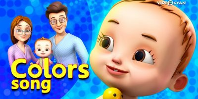 Colors Song With Baby Ronnie | Nursery Rhymes & Kids Songs | Videogyan 3d Rhymes | Bathing Song
