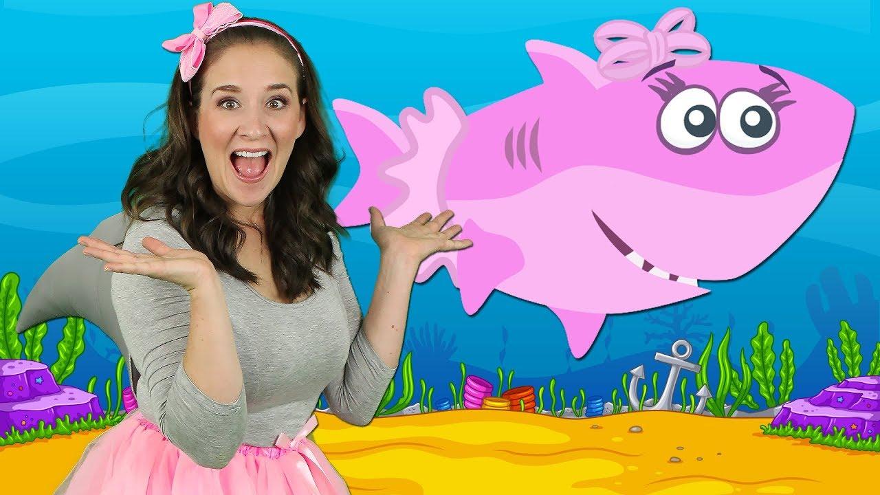 Baby Shark   Kids Songs and Nursery Rhymes   Animal Songs ...