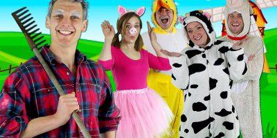 Old MacDonald Had a Farm – Kids nursery rhymes