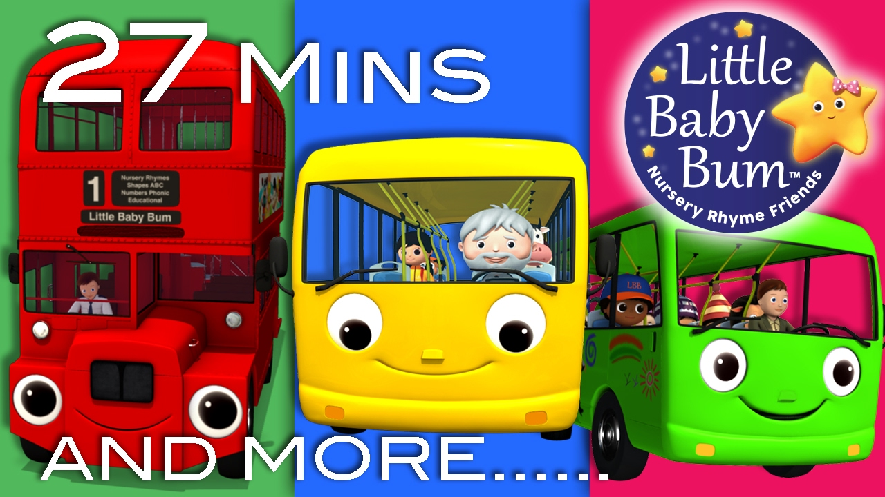 Wheels On The Bus | All Wheels On The Bus Videos | Little ...