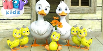 Five Little Ducks Went Out One Day – Nursery Rhymes by HeyKids