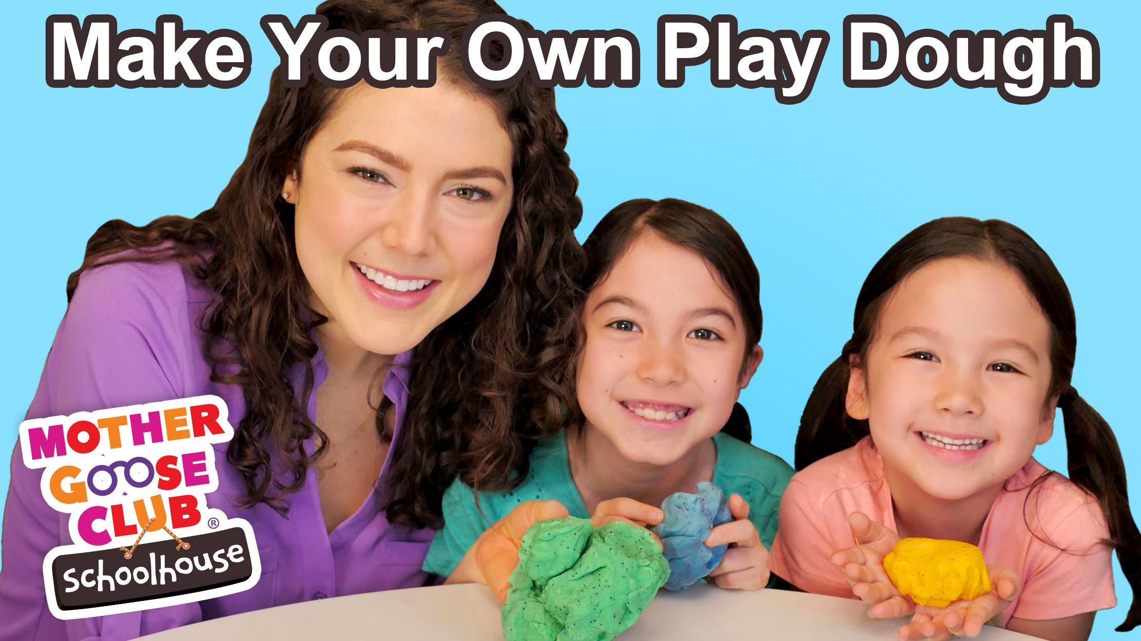 How to Make Play Dough | WITH BLOOPERS! | Show Me How Parent Video