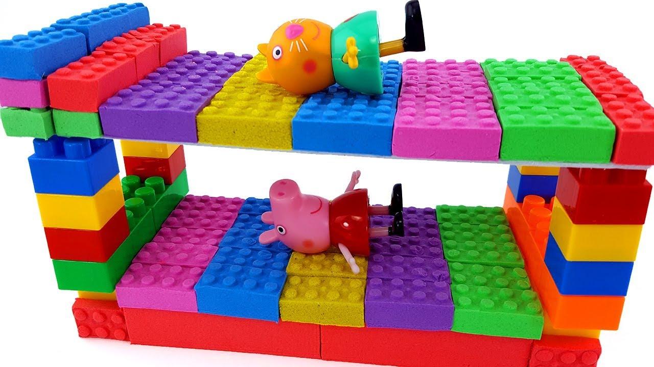 kinetic Sand Bedroom Lego bunk bed Dream Nursery Rhymes Song