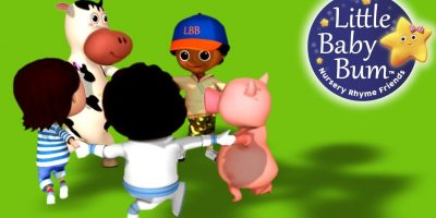 Ring Around The Rosy | Nursery Rhymes | By LittleBabyBum!