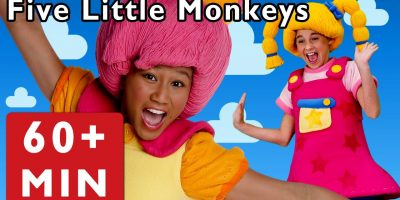 Five Little Monkeys and More | Nursery Rhymes from Mother Goose Club!