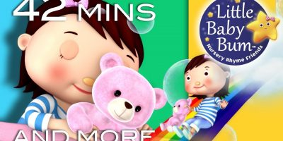 "Bedtime Songs | Lullabies | Nursery Rhymes | 42 Minutes from LBB! ""Shhh…Goodnight!"""