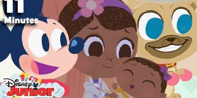 Nursery Rhymes Compilation! | ?  Disney Junior Music Nursery Rhymes | Disney Junior
