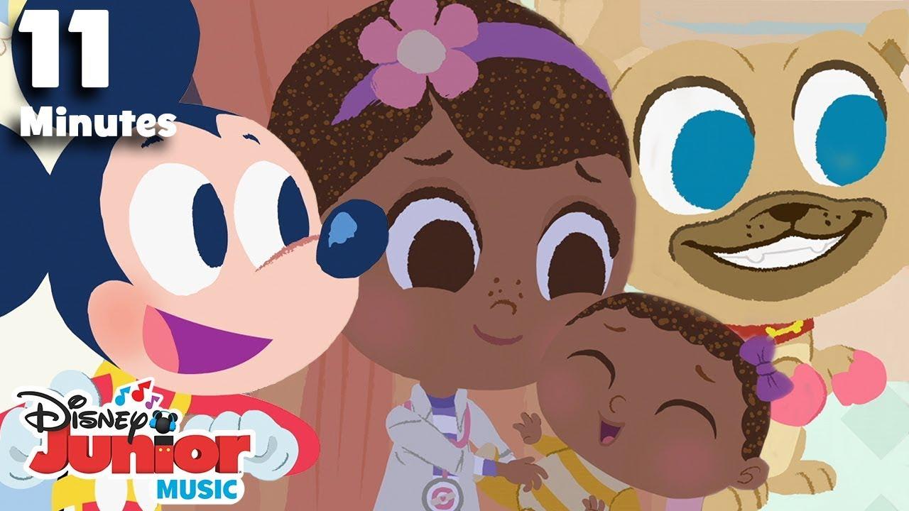 Nursery Rhymes Compilation!   ?  Disney Junior Music Nursery Rhymes   Disney Junior