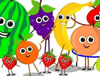 The Fruits Song | Learn Fruits Nursery Rhymes | Baby Songs | Kids Rhymes For Children | Kids Tv