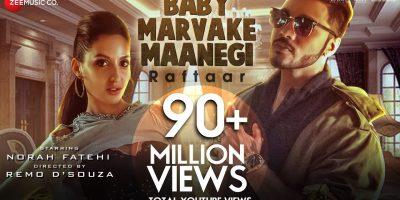 Baby Marvake Maanegi – Raftaar | Nora Fatehi | Remo D'souza | India's first DANCEHALL Song
