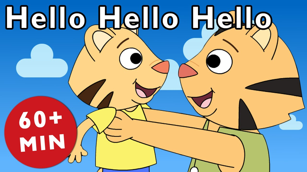 Hello Hello Hello and More | Nursery Rhymes from Mother Goose Club!