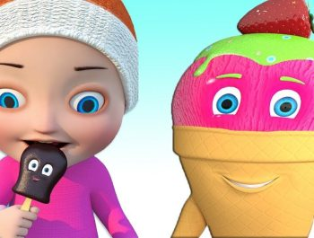 ICE CREAM SONG – Color Learning Song for Children – 3D Baby Animation Nursery Kids songs